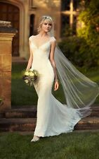 Essense of Australia Sheath Bridal Gown D1767 Wedding Dress