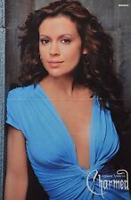ALYSSA MILANO - A3 Poster (ca. 42 x 28 cm) - Charmed Clippings Fan Sammlung NEU