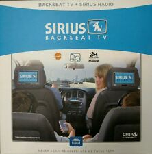 Sirius SCV1 Backseat TV for Sirius / for XM Satellite Radio Receiver