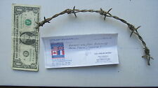 German Barbed Wire From OMAHA BEACH, NORMANDY, DDAY, France, Overlord, WWII