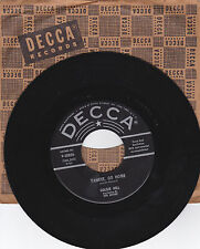 GOLDIE HILL RECITATION BY RED SOVINE-DECCA 30826 COUNTRY 45 YANKEE GO HOME VG++