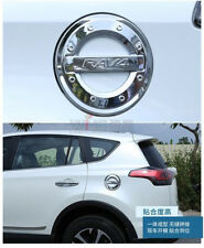 For Toyota RAV4 2013-2017 Fuel Tank Cover Chrome Car Styling Accessory