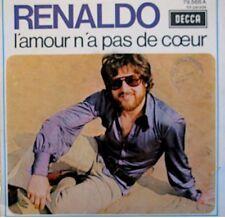 RENALDO l'amour n'a pas de coeur/j'aime l'amour & les filles SP 1970 PROMO EX++