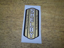 Vintage Shelby Bicycle  Seat Tube Decal Including Donarld Duck &