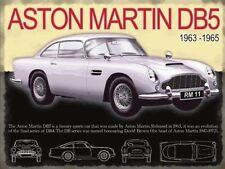 Aston Martin DB5,Classico Auto Sportive,James Bond,Medio Metallo/Tin Firmare,