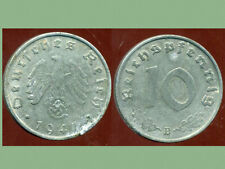 WW2  ALLEMAGNE  10 reichspfennig  1941 B