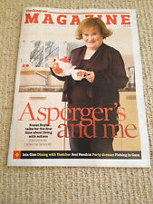 UK SUSAN BOYLE Observer Magazine Cover Interview Clippings SUBO December 2013