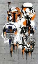 Non-woven photomural Giant poster sized 200x120cm Star Wars Celebrate The Galaxy