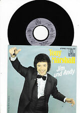 "7"" Tony Marshall -  Jim und Andy"