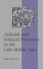 Cambridge Studies in Medieval Life and Thought Fourth: Ockham and Political...
