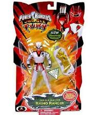 Power Rangers Jungle Fury White Master RHINO Ranger New Factory Sealed 2008