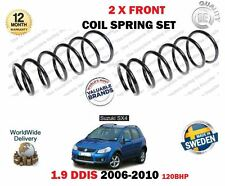 FOR SUZUKI SX4 1.9 DDIS D19AA 2006-2010 NEW 2 X FRONT COIL SPRINGS SET