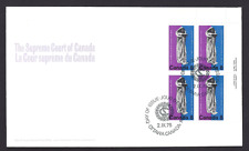 Canada  FDC  # 669  Supreme Court Centenary    1975 URpb   New Fresh Unaddressed