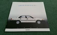 1988 TOYOTA COROLLA SEDAN WAGON SPORT COUPE ALL TRAC LARGE USA 24 PAGE BROCHURE