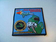 2011 MICHIGAN SUCCESSFUL DNR BEAR HUNTING PATCH - DEER - TURKEY - ELK