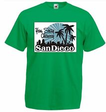 ANCHORMAN INSPIRED RON BURGUNDY STAY CLASSY SAN DIEGO T SHIRT