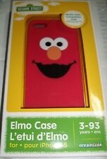 ELMO Sesame Street SILICONE CASE COVER iPHONE 5 5s Dream Gear Licensed NEW Box