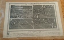 Vintage 1933 Yale Army College Football Game Illustrated Current News Poster NRA