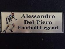 Alessandro Del Piero Sublimation Plaque