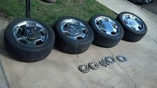 RONAL LORINSER 18 INCH D93 WHEELS AND TIRES FROM 1990 MERCEDES 560SEC