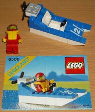 Lego City 6508 rápidamente bote nº 2 V. 1990 + Oba