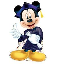 "32"" Mickey Mouse Graduation Birthday Party SuperShape Mylar Foil Balloon"