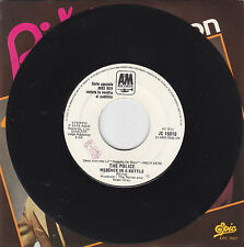 """THE POLICE - message in a bottle / MICHAEL JACKSON - working day and night 7"""""""