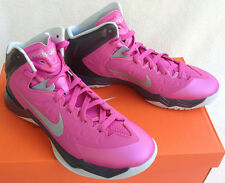 new Nike Zoom Hyperquickness TB 603514-600 Basketball Shoes Pink Women's 10.5