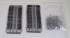 51 Vintage LYON Metal Locker Badges Number Plates #F4-1 thru F4-51 Lot & Rivets