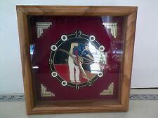 VNTG HERIATGE INT ANNIVERSARY BILLIARD THEME ENAMEL DIAL QUARTZ CLOCK* NO RESERV