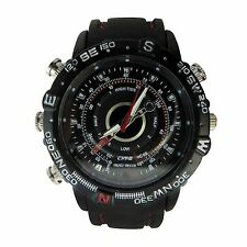 8GB Analogue Watch With Digital Video Recorder Spy Camera DVR Cam High Quality