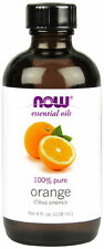 Now Foods 100% Pure Orange Essential Oil 4 fl oz For Burners & Diffusers!