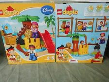 LEGO DUPLO 10604 Jake & The Neverland Pirati Treasure Island NUOVO