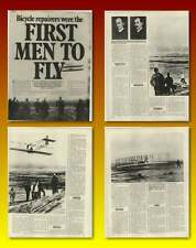 First Men To Fly Were Bicycle Repairers Wright Brothers Old Article
