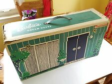 Vintage Barbie Dream House Cardboard Doll Furniture Records Mattel Teen Fashion