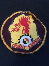 PATCH- ORIENT EXPRESS - 7TH TRANSPORT BATTALION - VIETNAM WAR HELICOPTER JACKET