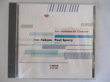 LES CHEMINS DE L'AMOUR - THE SONGS OF FRANCIS POULENC CD - HOBSON / SPERRY NEW