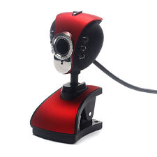 USB 2.0 LED HD Webcam Camera Web Cam Avec Microphone Micro Pour