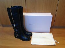 JIMMY CHOO 'DOREEN' knee high boots EXCEPTIONALLY IMMACULATE CONDITION!!!
