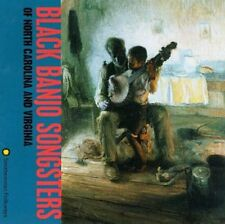 Black Banjo Songsters Of North Carolina & Virginia - Black Banjo (1998, CD NEUF)