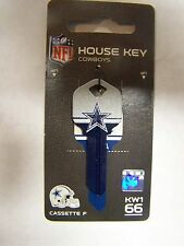 Dallas Cowboys  Kwikset key blank