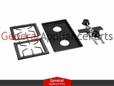 Jenn-Air Designer Line Pro-Style Gas Cooktop Black Two Burner Module AG202MB