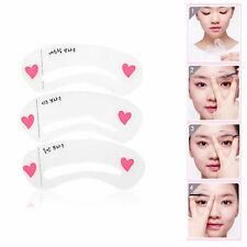 Korean 3 Style Mini Brow Class Drawing Guide Eyebrow card Template helper New ES