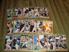 1993 O Pee Chee Premier Star Performers Complete Insert Set NM-M Condition