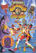 OFFICIAL SUPERHUMAN SAMURAI SYBER-SQUAD ANNUAL 1996 - EXCELLENT CONDITION