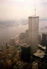 Photo. 1988-9. NYC. Sky View of Twin Towers - World Trade Center