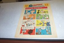 COMICS THE OVERSEAS WEEKLY 9 OCTOBER 1960 BEETLE BAILEY THE KATZENJAMMER KIDS