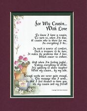 A Birthday Gift Present Poem For A Cousin With Love, Gift For A Cousin #73