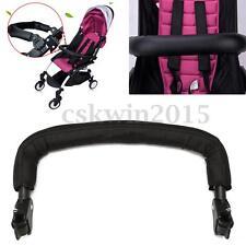 Universal Handle Handlebar Armrest Bumper Bar Adjustable For Baby Stroller Grip