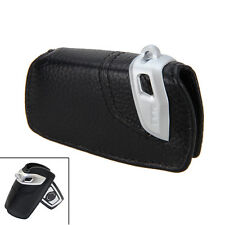 Genuine Leather Key Fob Holder Bag Cover Case Basic line For BMW 1-7 Series X3